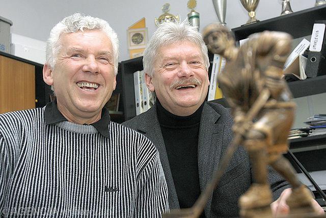 Leszek (z lewej) i Wiesław Tokarzowie