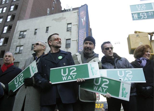 U2 otrzymało