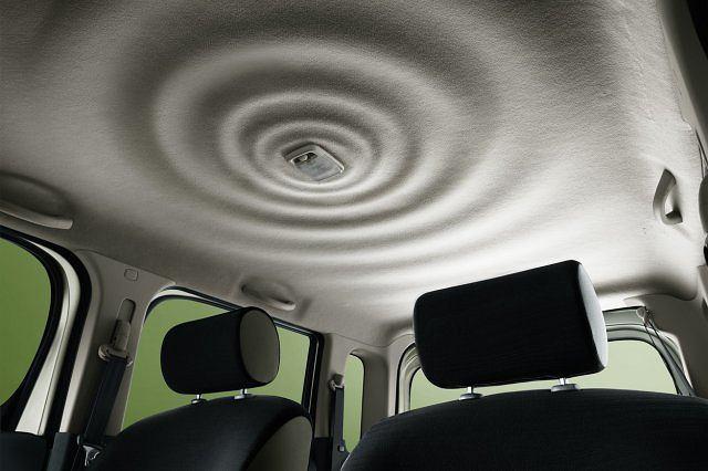 Wnętrze Nissana Cube