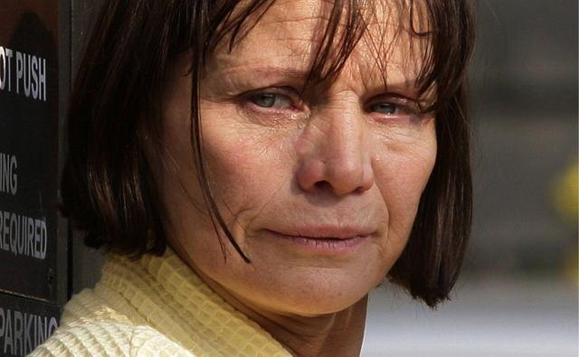 Wylała wiele łez
