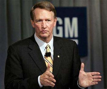 Rick Wagoner, dotychczasowy szef General Motors