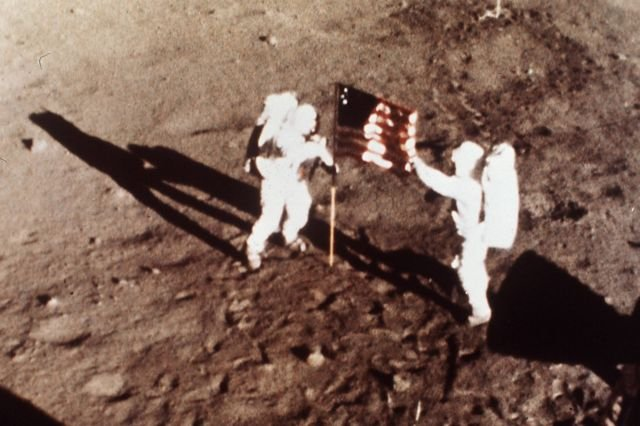 Neil Armstrong i Edwin E.