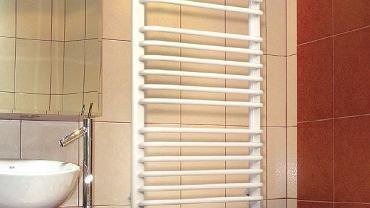 Grzejnik łazienkowy, drabinkowy Foxtrot, IMMERGAS. Cena: 152-520 zł. Więcej informacji: www.immergas.com.pl