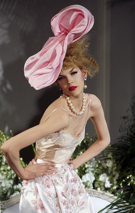 John Galliano haute couture Dior (jesień/zima 2009/2010)