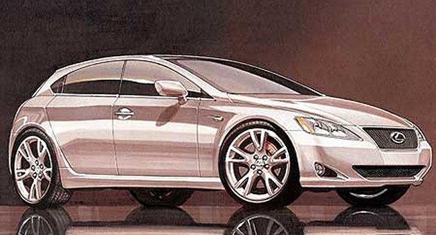 Najmniejszy Lexus wjedzie do salonów w 2010 roku