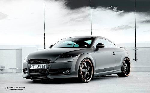 Matte Black Oettinger Audi TT