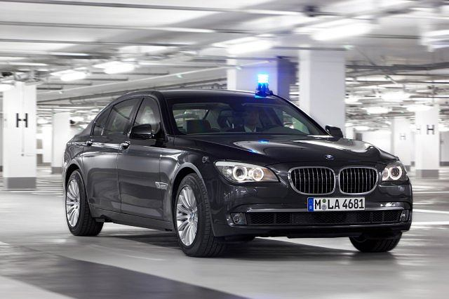 BMW serii 7 w wersji High Security