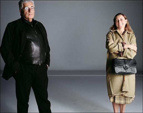 Miuccia Prada i Patrizio Bertelli