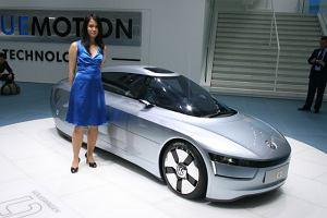Futurystyczna hybryda Volkswagena