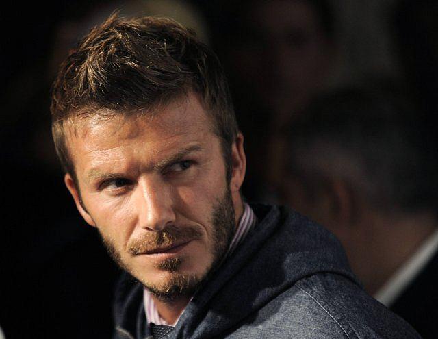 David Beckham wpadł na imprezę Adidasa z okazji pokazu jego autorskiej kolekcji.
