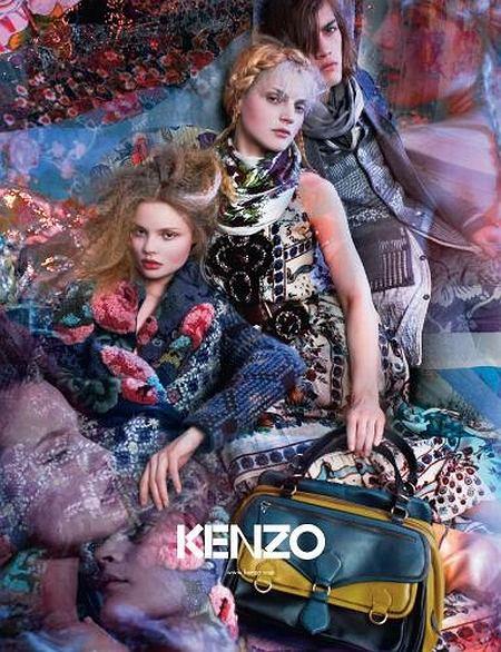 Kenzo reklama jesień/zima 2009/2010