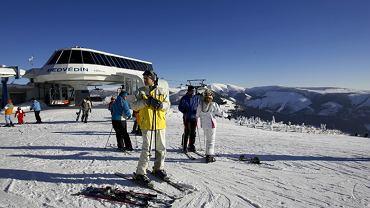Szpindlerowy Młyn - największy ośrodek narciarski w Czechach