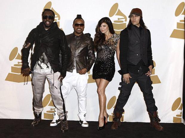The Black Eyed Peas na czerwonym dywanie