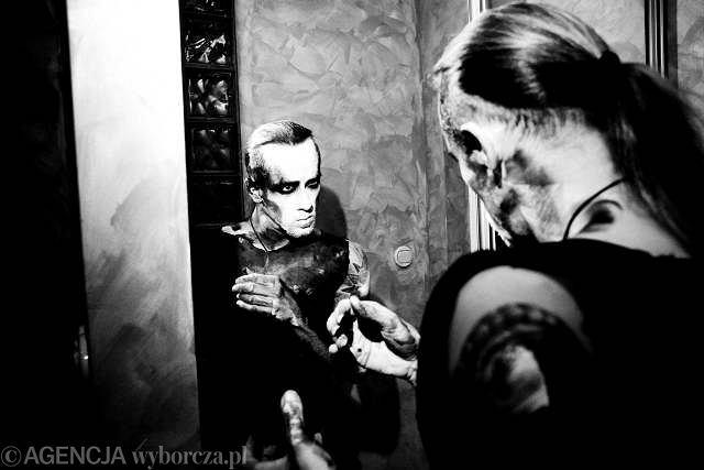 Adam D. ''Nergal'' z grupy Behemoth