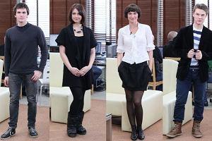 Kilku aktorów z serialu BrzydUla gościło w weekend w programie Dzień Dobry TVN. Zobaczcie, jak prezentują się prywatnie - a ich wygląd naprawdę różni od tego, który znamy z serialu. Kto wyglądał najciekawiej?