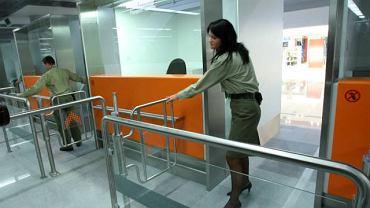 Punkt kontroli celnej na lotnisku Okęcie
