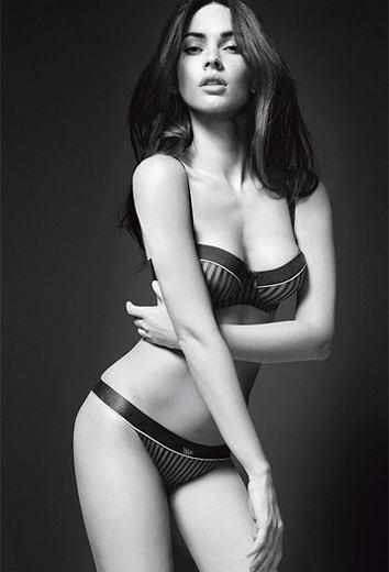 Megan Fox dla Armani Underwear