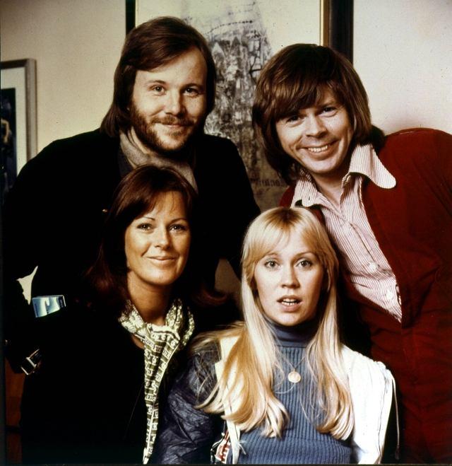Abba w komplecie. Rok 1974