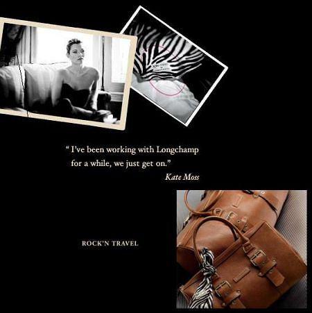 Kolekcja Kate Moss dla Longchamp