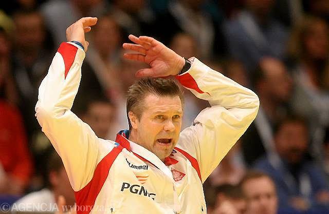 Zdenerwowany Bogdan Wenta