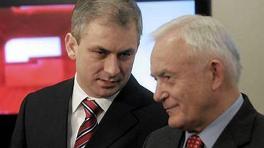 Grzegorz Napieralski i Leszek Miller