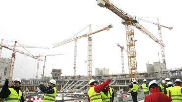 Wizyta ekspertów UEFA na budowie Stadionu Narodowego