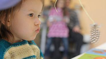 3-letnia Małgosia Rydel u logopedy