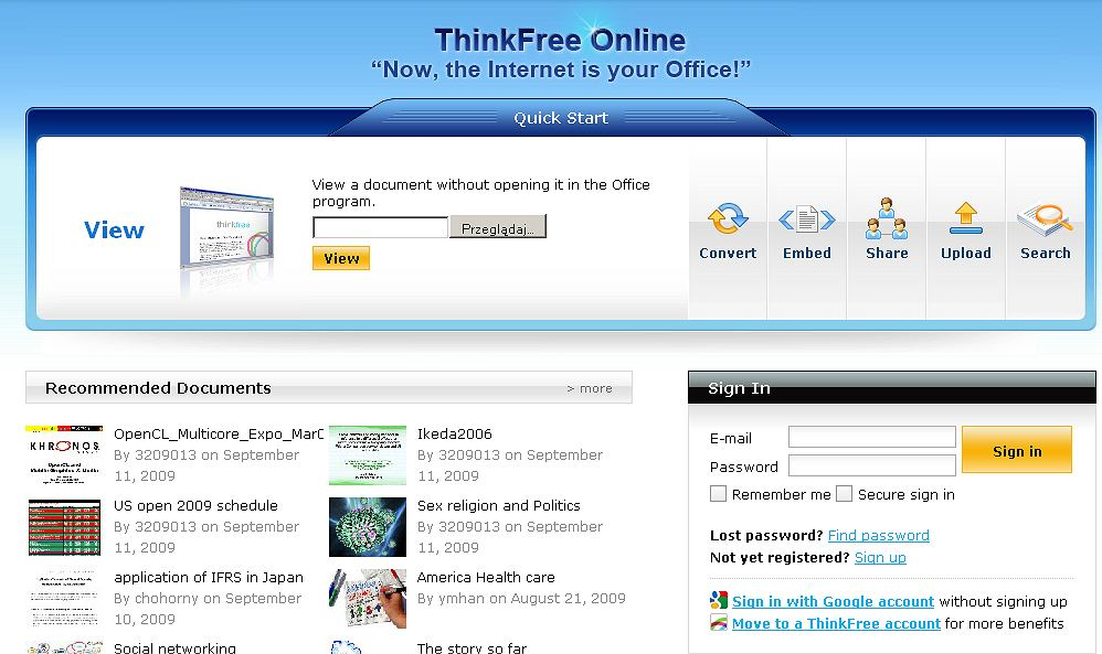 Thinkfree