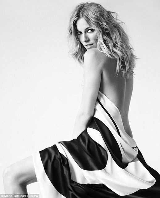 Sienna Miller dla Fashion Targets Breast Cancer, fot. Mario Testino
