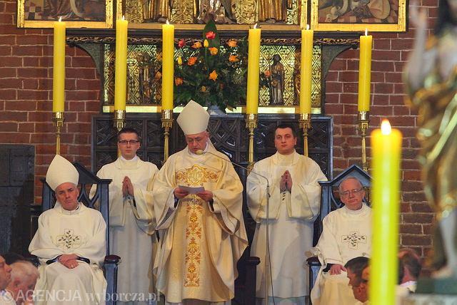Msza święta w katedrze św. Janów