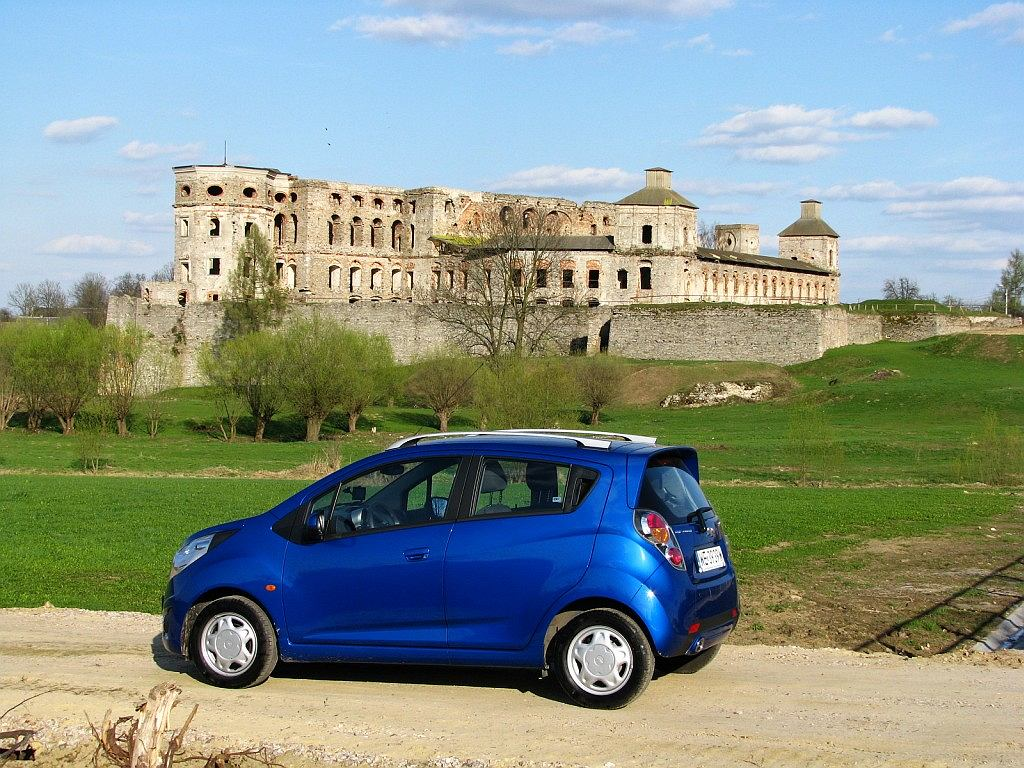 weekend z Chevroletem Sparkiem 1.2 LT