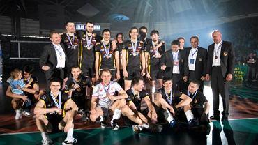 Siatkarze PGE Skry Bełchatów regularnie grają w Lidze Mistrzów