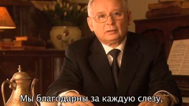Jarosław Kaczyński w orędziu do Rosjan