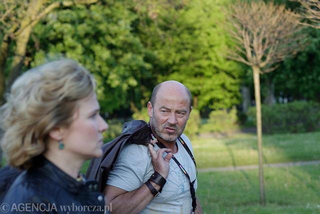 Jan Jakub Kolski z byłą partnerką Grażyną Błęcką-Kolską