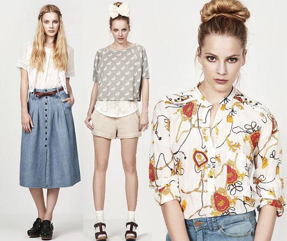 Lookbook Zara - czerwiec 2010