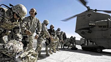 Polska baza Warrior na południu prowincji Ghazni