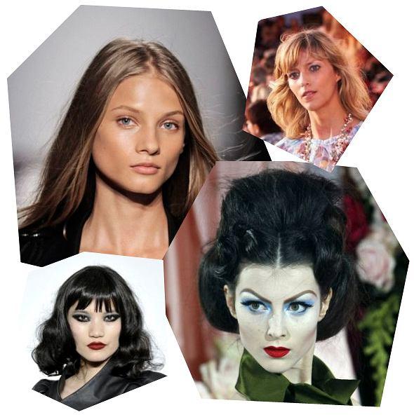 Z wybiegów Balmain, Chanel, L.A.M.B. i Dior - naturalnie i wyraziście