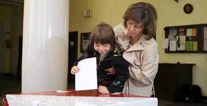 Głosowanie w Warszawie
