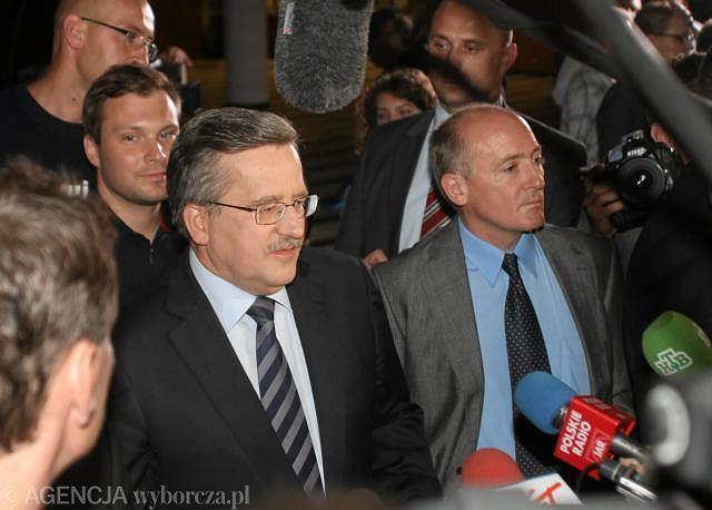 Bronisław Komorowski po debacie wyborczej