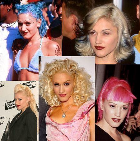Wybierz najlepszy look Gwen Stefani