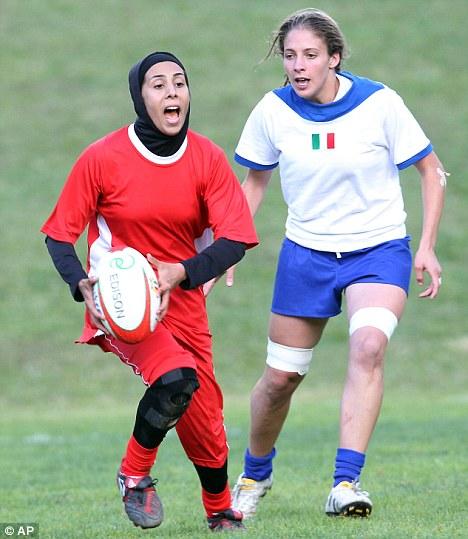 Irańskie rugbistki