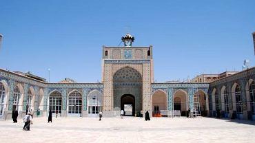 Dziedziniec meczetu Jameh