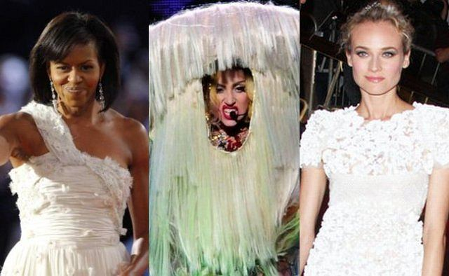 Michelle Obama, Lady Gaga i Diane Kruger