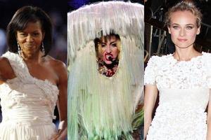 Michelle Obama, Lady Gaga i Diane Kruger