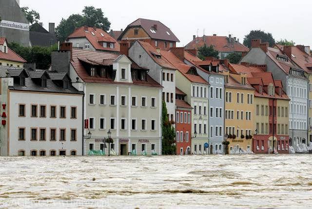 Zgorzelec wychodzi z powodzi z nieco mniejszymi stratami niż pobliska Bogatynia