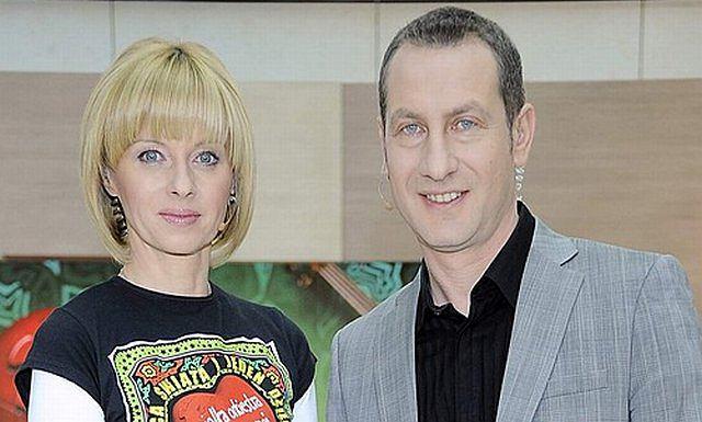 Jolanta Pieńkowska i Wojciech Jagielski
