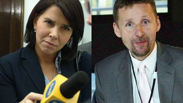 Katarzyna Kolenda-Zaleska i Marek Migalski