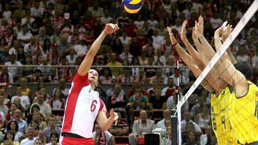 Siatkówka. Polska - Brazylia 3:2