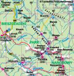 Polskie góry. Bieszczady, szlak na Tarnicę przez Bukowe Berdo