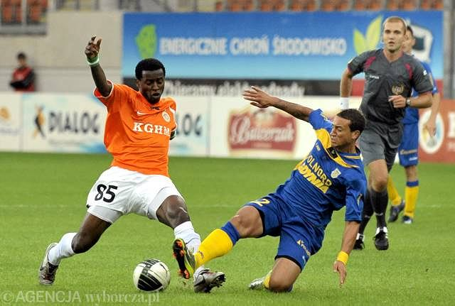 Ekwueme ostatni sezon spędził w Zagłębiu Lubin.